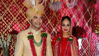 TV actor Ssharad Malhotra ties knot with Ripci Bhatia