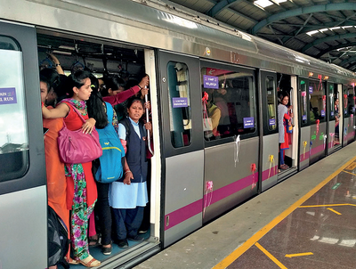 Namma commuters want BMRCL to clear Metro coach exits