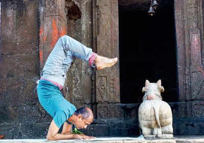 Be like a yogi