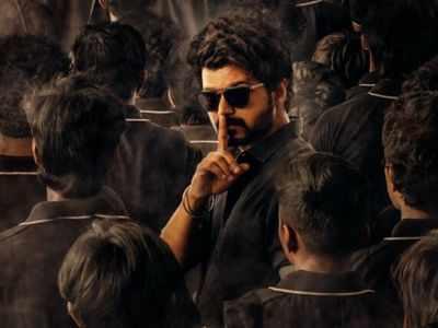 Master Second Look:  Vijay silences everyone with his intense look