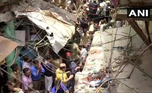 4-story building collapses in India; several feared trapped
