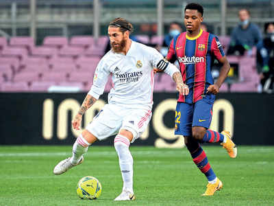 Real Madrid sink Barcelona in 'Clasico'