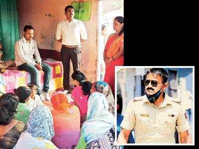 Youths at Janata Vasahat launch drive to reinstate transferred PSI