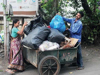 PMC neglects trash of virus patients at home