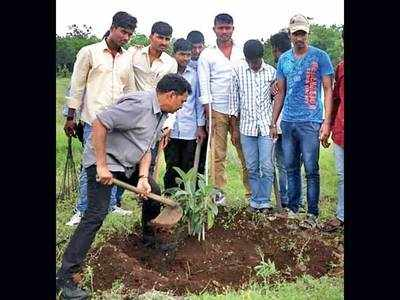 NGO sets a three-year aftercare plan as payback for saplings it distributes