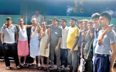 Train full of horror stories reaches LTT