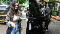 New parents Arjun Rampal and Gabriella Demetriades spotted post a lunch date