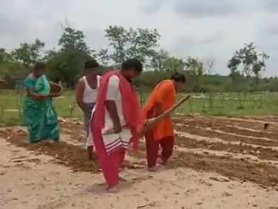 When COVID-19 plays havoc with lives, tea vendor's daughters play 'oxen' to pull family