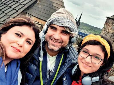 Scottish holiday for Pankaj Tripathi and family