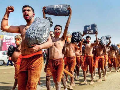 VHP pause on Ram temple campaign
