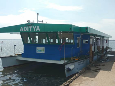 Aditya, a low-cost and eco-friendly Kerala passenger ferry wins global award