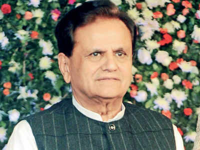 Ahmed Patel laid to rest; hundreds mourn
