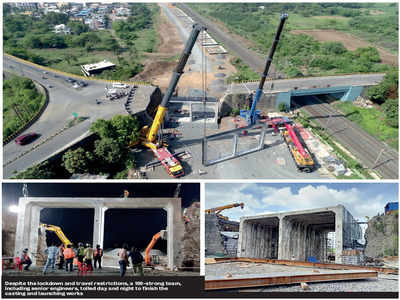 In a first for India, bridge to be built in 20 days