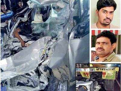 Four members of a family killed in car crash near Shirur