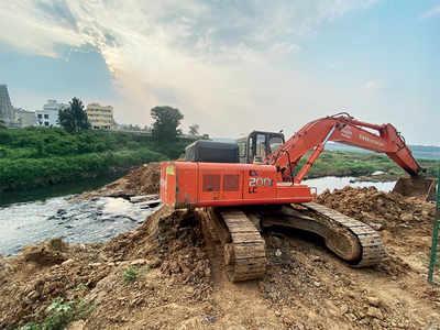 NGT team's visit hurries up Bellandur Lake clean-up