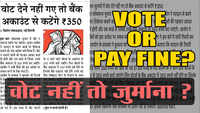 Fake Bole Kauwa Kaate: Episode 64- Rs. 350 fine if you do not vote?!!