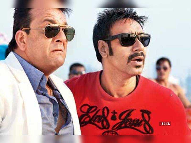 'Sanjay Dutt, Ajay Devgn get along well' | Hindi Movie ...