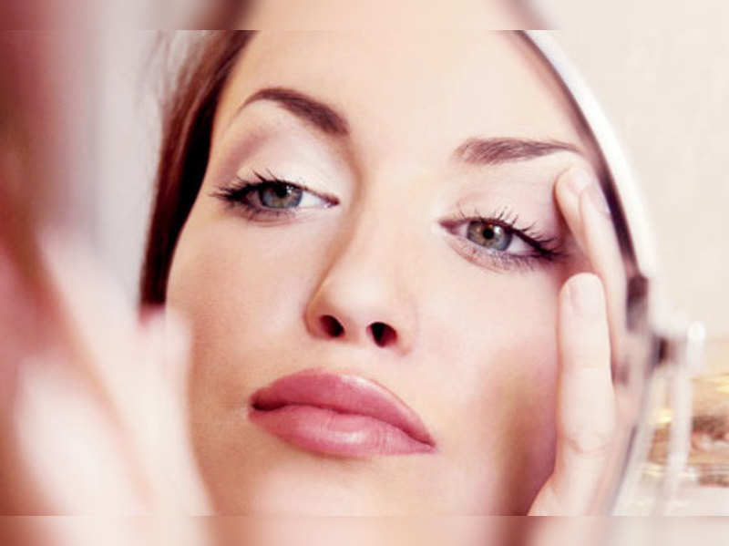 Mirrored perfection: A little jab here and some filler there can take decades off your face.