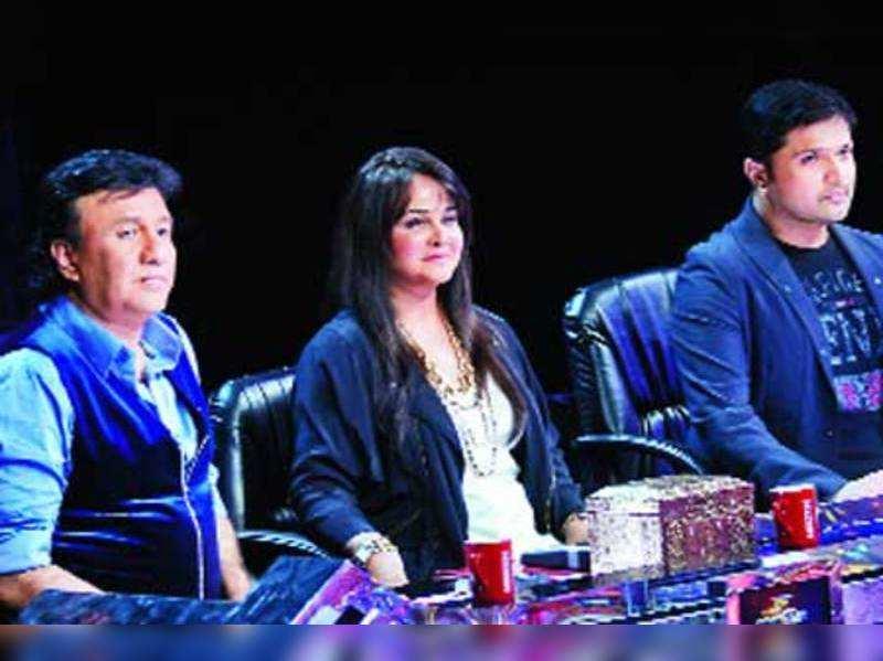 Anu Malik, Alisha Chinai and Himesh Reshammiya