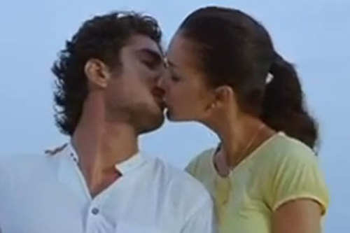Amy Jackson Kiss Video