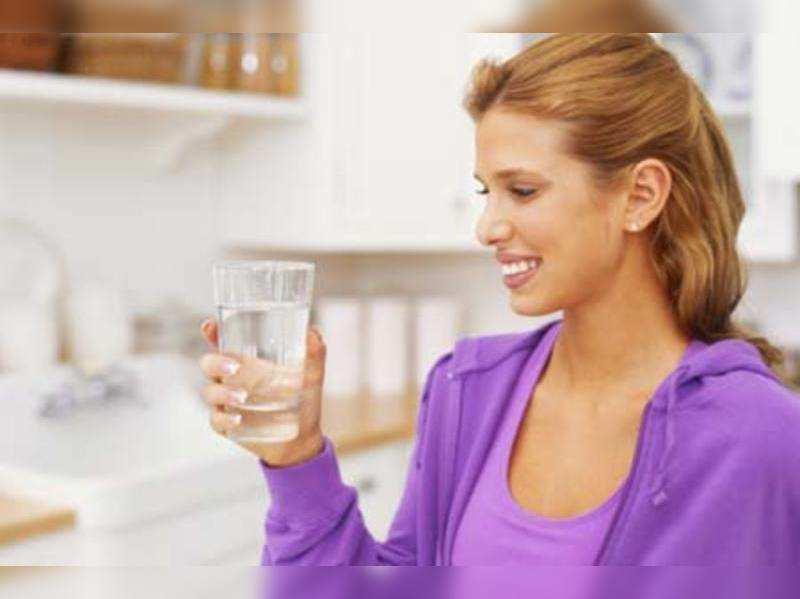 Say no to water between meals
