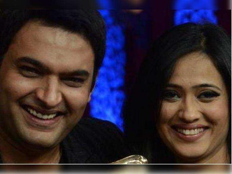Kapil Sharma and Shweta Tiwari