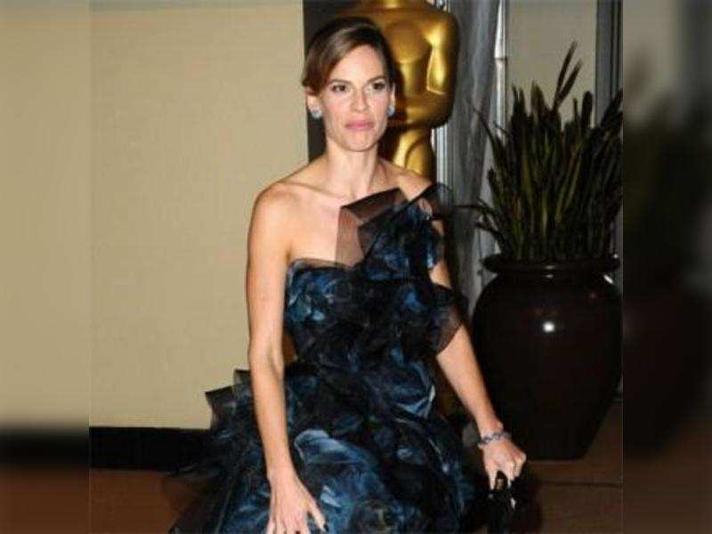 Hilary Swank throws 'Redneck' party