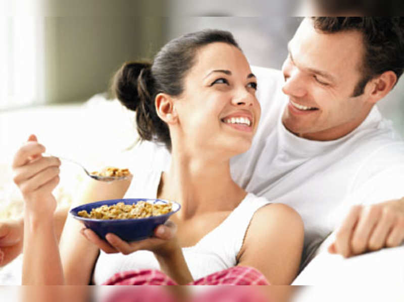 Eat up: Breakfast should ideally comprise a perfect combination of carbohydrates, protein and fibre
