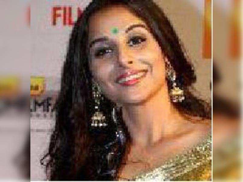 Vidya already dreaming about her next Filmfare Award?