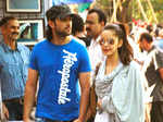 Shazahn with boyfriend @ Kala Ghoda