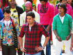 Bol Bachchan: On the sets