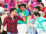 Abhishek @ 'Bol Bachchan' shoot