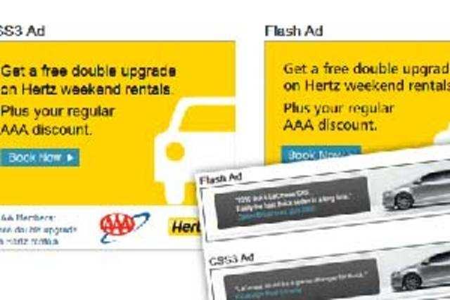 Flash ads