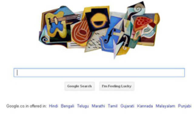 Google doodle today celebrates 125th birth anniversary of Spanish painter and sculptor Juan Gris.