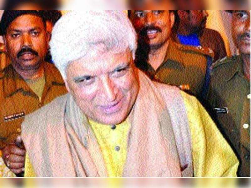 "Javed Akhtar<a href=""http://photogallery.indiatimes.com/awards/mirchi-music-awards/mirchi-awards-12-/-winners/mirchi-awards-12-/-Winners/articleshow/12364929.cms"" target=""_blank"">More Pics</a>"