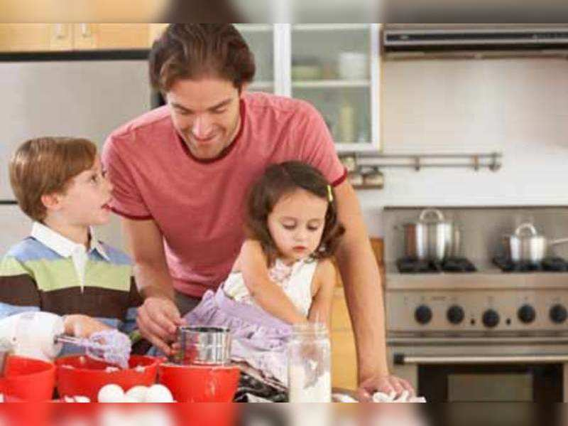 Can husbands make good homemakers? - Times of India