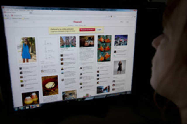 Pinterest, development of which began in 2009, is a virtual pinboard on which you can pin interesting items.