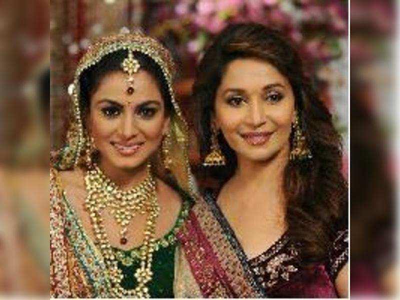 Madhuri Dixit and Malaika Arora's TV cameo