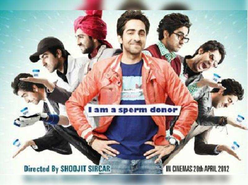 """Vicky Donor<a href=""""//photogallery.indiatimes.com/movies/bollywood/vicky-donor/articleshow/12531081.cms"""" target=""""_blank"""">More Pics</a>"""