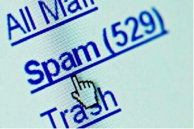 A study says 20 per cent of the spam mails that were sent out worldwide in the quarter ended March 31, 2012, originated in India.