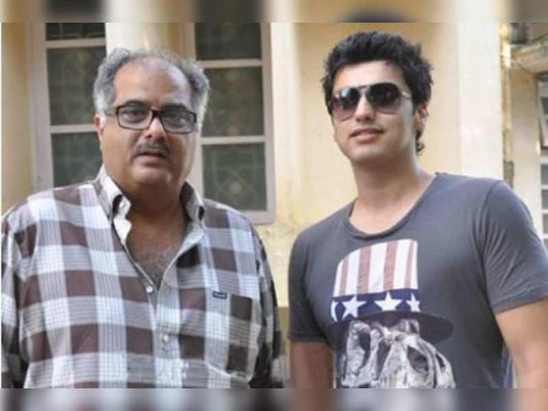 Boney and Arjun Kapoor