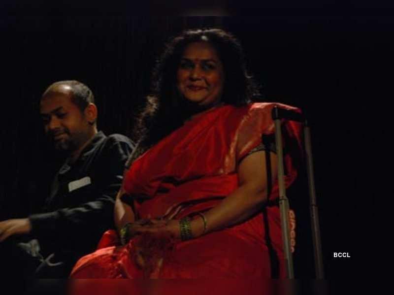 Shoorpanakha and Shakuni meet to retell history (Photo credit: Divya Chandra, BooGio11 Productions)