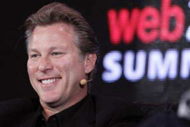 Ross Levinsohn, executive vice president of the Americas for Yahoo, speaks at the 2011 Web 2.0 Summit in San Francisco, California, US.