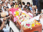 Taruni Sachdev's funeral procession