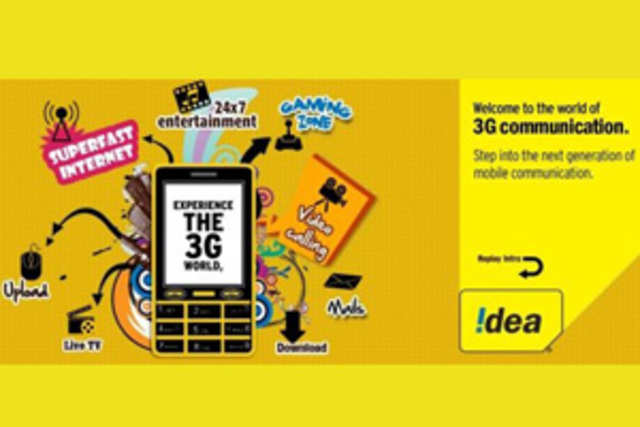 Idea Cellular has announced upto 70% price reduction in its 3G services.