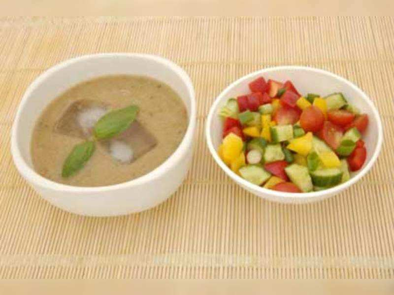 Soups, salads for weight loss in summer
