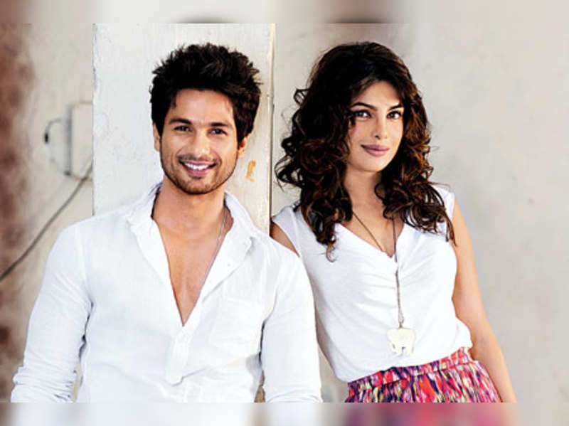 "Shahid and Priyanka  <a href=""http://photogallery.indiatimes.com/celebs/indian-stars/priyanka-chopra/portfoliolist/3879133.cms"" target=""_blank"">More Pics</a>"