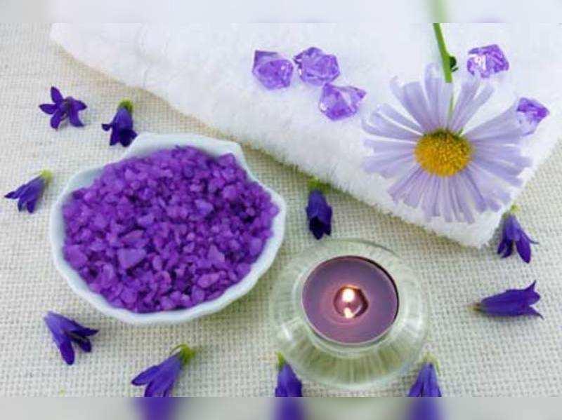 Improve skin quality with bath salt (Thinkstock photos/Getty Images)