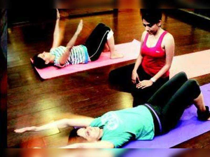 Combine yoga and pilates to lose weight