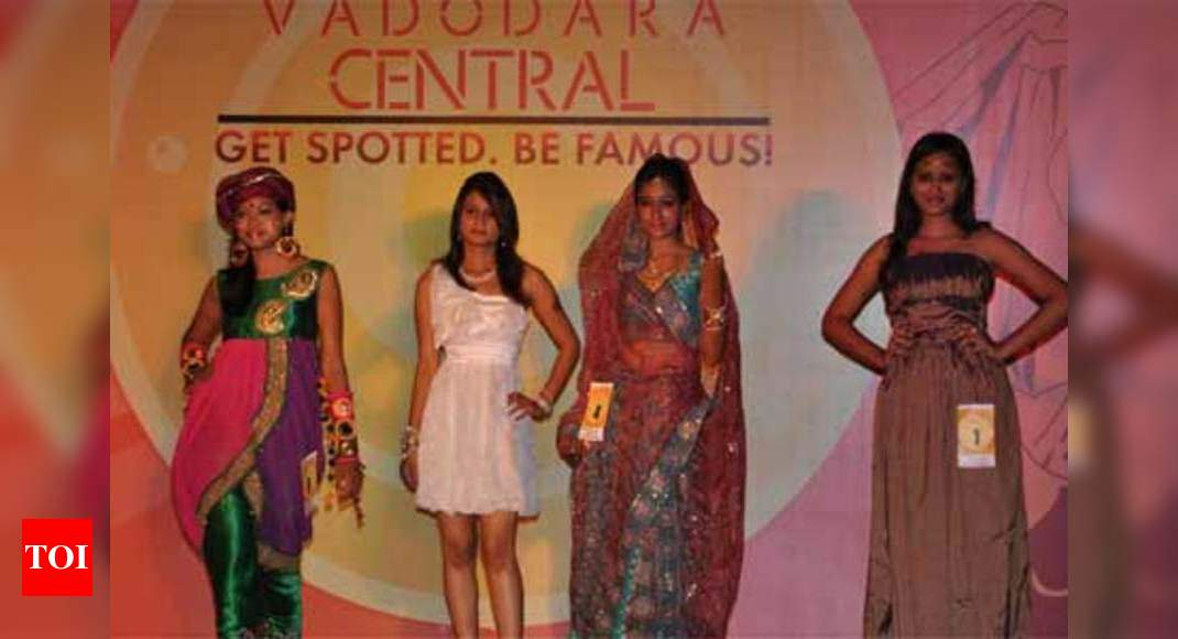 Vadodara Goes High On Fashion Times Of India